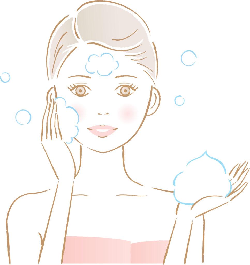 洗顔イラスト2
